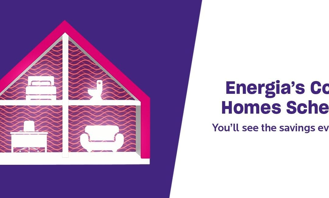Get a Cosy Home this winter with Energia