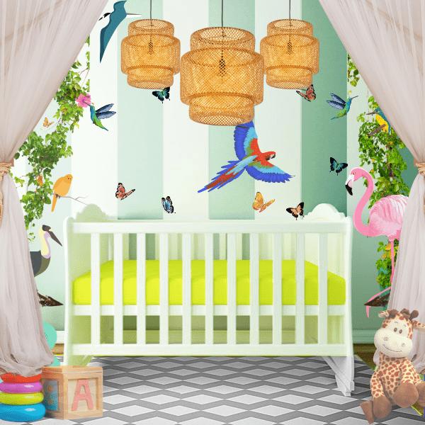 Visual stimulation in the nursery by Auréliane Marcos, Interior Designer for Little Angels' Neurodesign